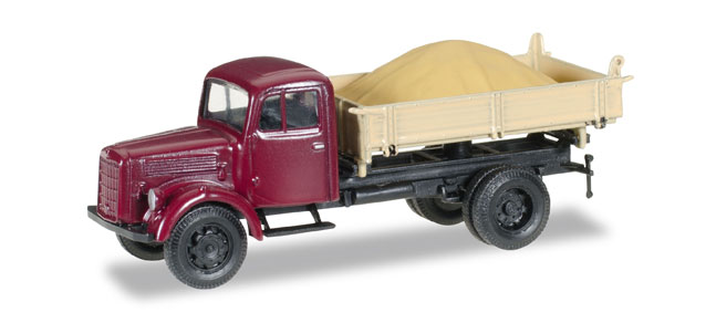 Herpa 745741 Mercedes-Benz L 3000 pick-up sklopka s pískem