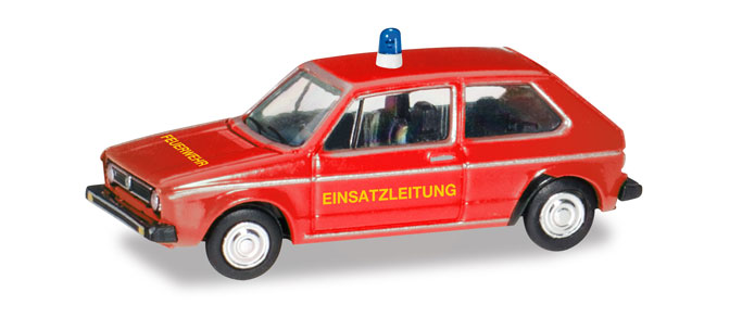 Herpa 066754 VW Golf I, hasiči