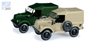 Herpa 066037 Set 2ks GAZ 69